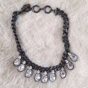 Givenchy Crystal Statement Necklace